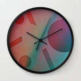 NO EFFORT Wall Clock