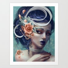 Ribbons and Deciet Art Print