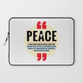 PEACE! Laptop Sleeve