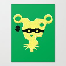 Cheese Burglar Canvas Print