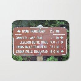 Trail Miles Bath Mat