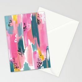 Seaside Abstract Stationery Cards