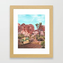 Desert Leisure Framed Art Print