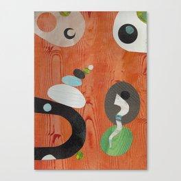 Rusty Wood Grain Canvas Print