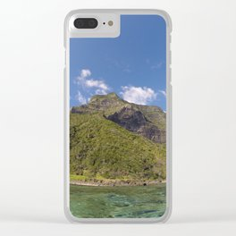 Mount Lidgbird, LHI Clear iPhone Case