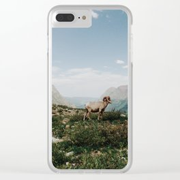 Bighorn Overlook Clear iPhone Case