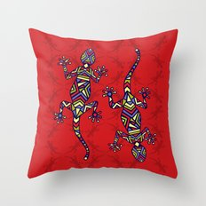 C13 GECKO 2 Throw Pillow
