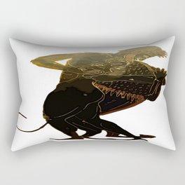 Hercules and The Nemean Lion Rectangular Pillow