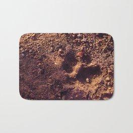 Cheetah Walk Bath Mat