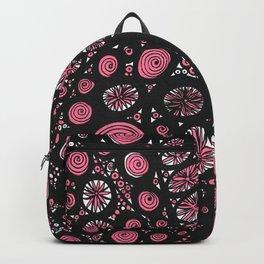 Pink Swirls Backpack