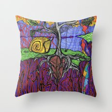 Garnet Dream Throw Pillow