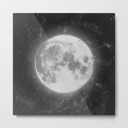 The Moon 2 Metal Print