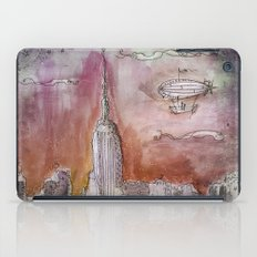 Boat over the City iPad Case