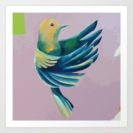 Flying Meditation Art Print