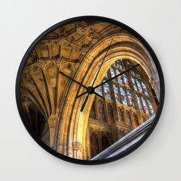 Golden Arch Wall Clock