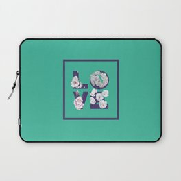 Floral Uv LOVE #society6 #love #ultraviolet Laptop Sleeve