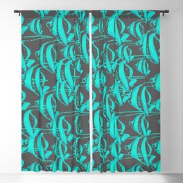 Resort Palm Collection Blackout Curtain