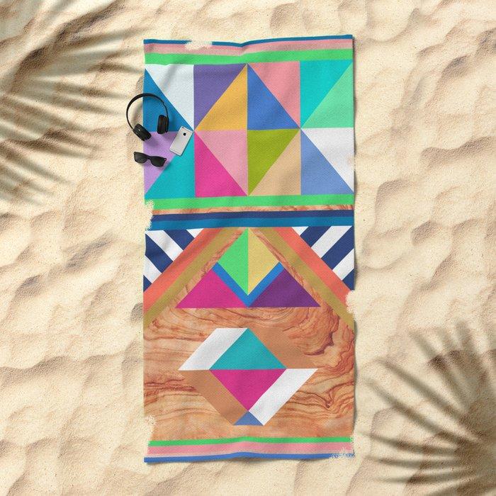 WOODY II Beach Towel