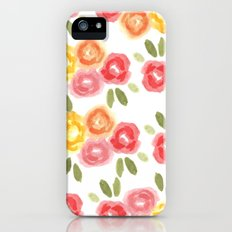 Vintage Florals Slim Case iPhone (5, 5s)