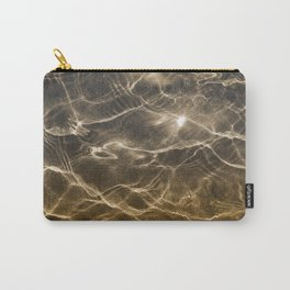 golden reflection 0341 undewater sand Carry-All Pouch