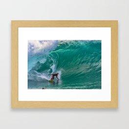 The Green Monster Framed Art Print
