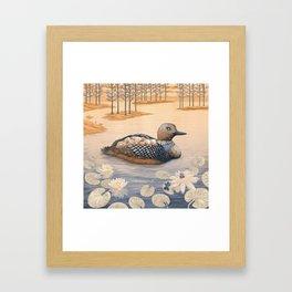 Mother goose Framed Art Print