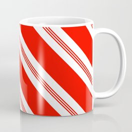 Candy Cane Stripes Holiday Pattern Coffee Mug