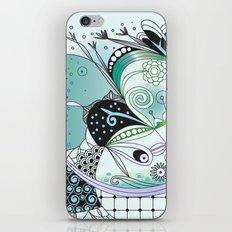 Winter tangle iPhone & iPod Skin
