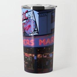 Public Market, Seattle WA Travel Mug