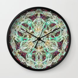 Knotted Cloth Ghosting Presence Wall Clock