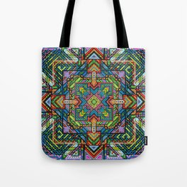Consciousness Squared Tote Bag