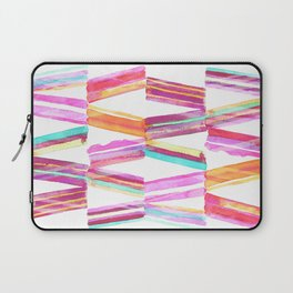 Ice Cream Stripe Laptop Sleeve