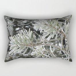 Frosted pine Rectangular Pillow