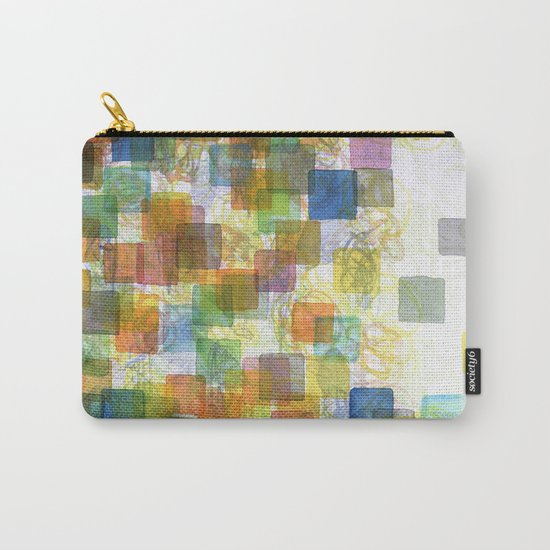 Dancing Squares Carry-All Pouch