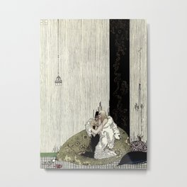 "Kay Nielsen Fairy Tale Art from ""West of the Moon"" Metal Print"