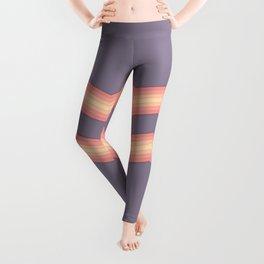 Vintage Zig Zag Pattern Leggings