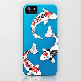 3 Koi fish iPhone Case