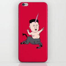 Kim Jong Unicorn iPhone & iPod Skin