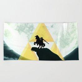 Zelda Horse Beach Towel