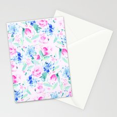 Scattered Lovers Pink Stationery Cards