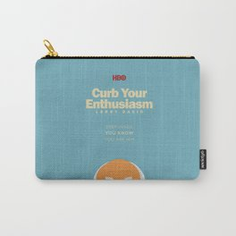 Curb Your Enthusiasm - Hbo tv Show with Larry David - Poster Carry-All Pouch