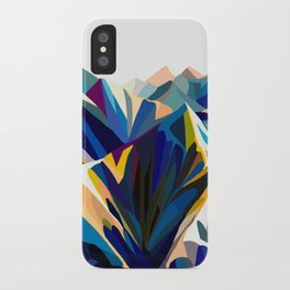 Mountains cold iPhone Case