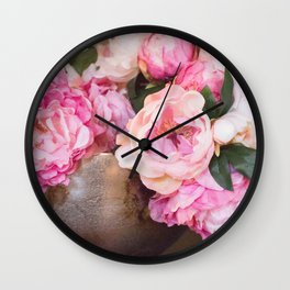 Enduring Romance Wall Clock