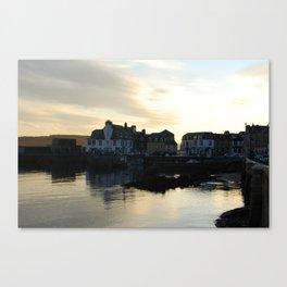Millport at dusk Canvas Print