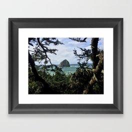 Natural Frame Framed Art Print