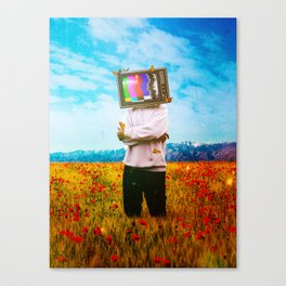Transmitter Interference Canvas Print