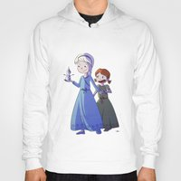 frozen Hoodies featuring Frozen by Kaori