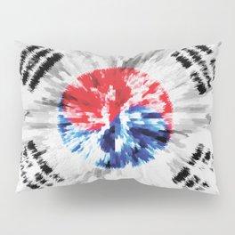 Extruded flag of South Korea Pillow Sham