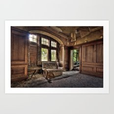Entrance to Potters Art Print