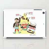 nutella iPad Cases featuring I {❤} NUTELLA by lilycious